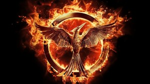 Mocking Jay symbol from The Hunger Games