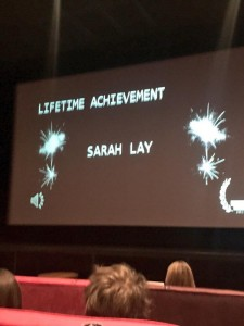 Lifetime Achievement Winner Comms2Point0 Sarah Lay